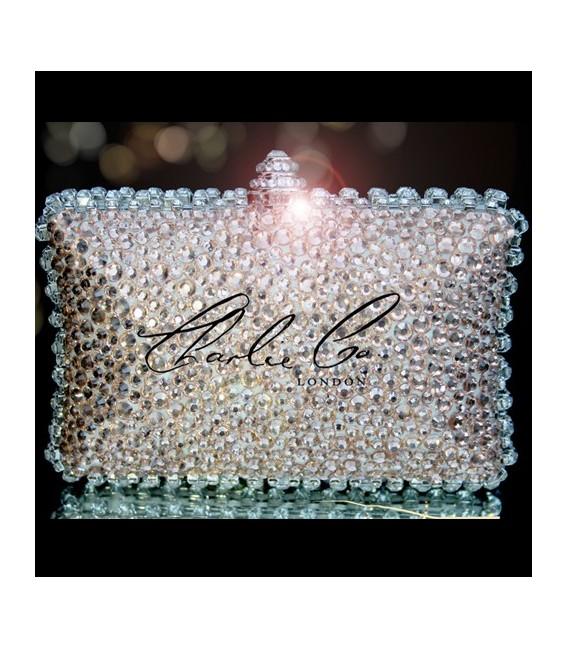 4 or 5 Vintage Nude Glass Crystal Set