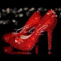 5 Scarlet Rose  Crystal Stilettos