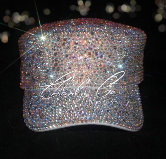 Customised Glass Crystal Cap
