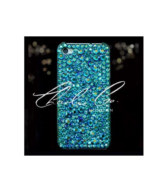 Emerald AB Swarovski Crystal Phone Case iPhone 4  4s