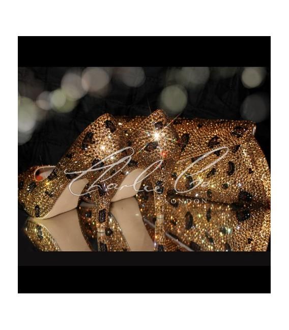Swarovski Leopard Large Set