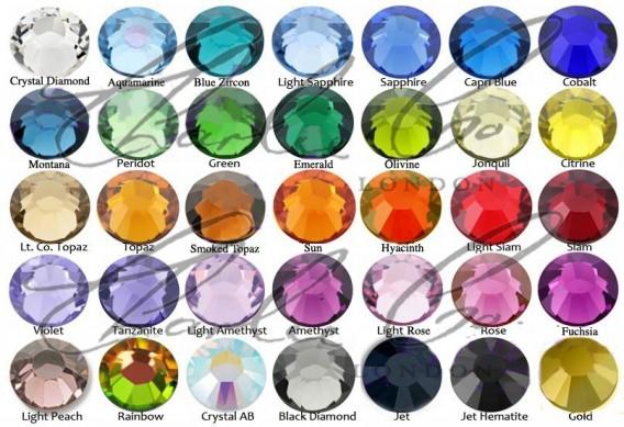 Blue Zircon Crystal Clutch Bag