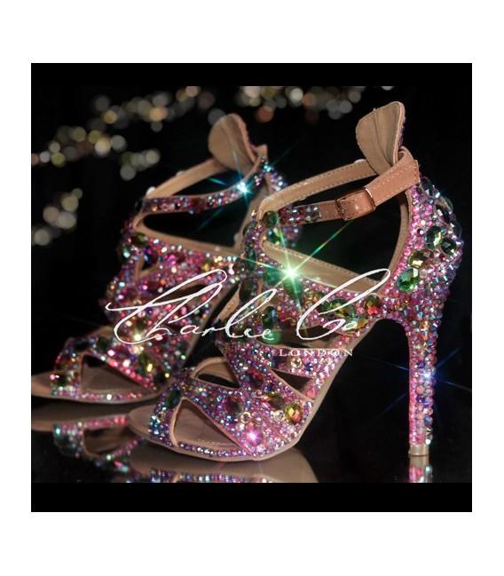 Jewel Sandal Heels Jungle Crystal 4 1TFJuc5lK3