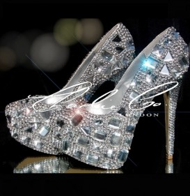 6.5 Clear Diamond Frost Platforms