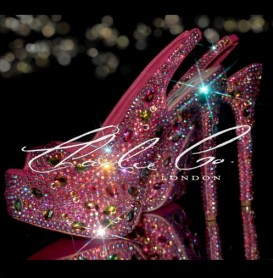 6 Killer Heels Jungle Jewel Crystal Slingbacks