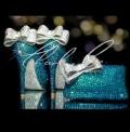 4  5 or 5.5 Deep Sea Crystal Jewelled Shoe  Bag Set