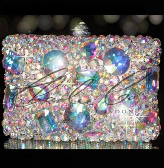 Swarovski AB Ice Crystal V Claw Casing Bag